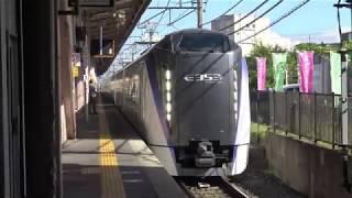 JR東日本E353系特急あずさ&かいじ 塩尻&小淵沢駅