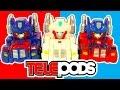 Angry Birds Transformers Vs Angry Birds Go Telepods Good Vs Bad Toys
