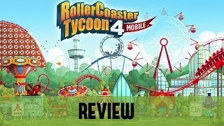 review rollercoaster tycoon 4 mobile ios