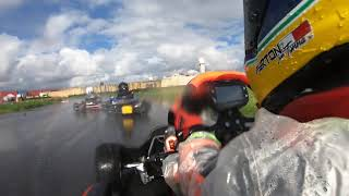 Ayrton Jon Tonna 6 Years Old , Crg With Iame X30 Entry Level . La Reve Circuit Malta 27/12/2020 .