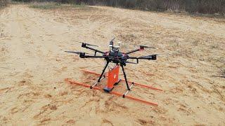 Zond-12e Drone LF Flight