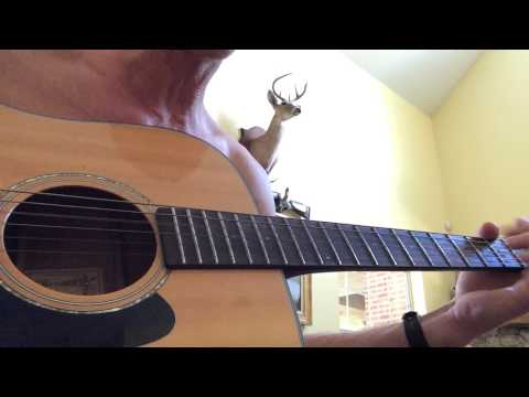 John Deere Green cover acoustic guitar Joe Diffie