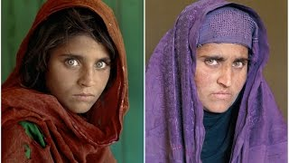 "Mrs Sharbat Gula, National Geograpic's ""Afghan Girl"", arrested on fraud charges"