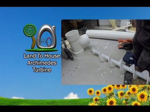Archimedes Turbine First Look