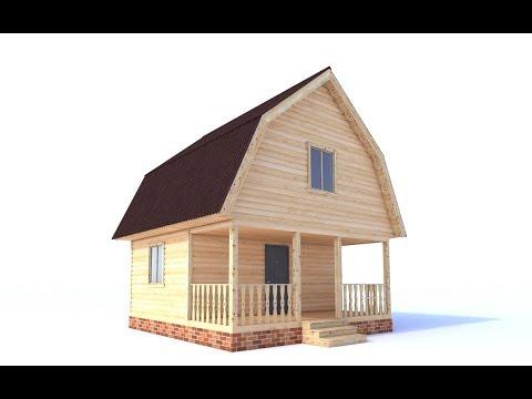 Экстерьеры в Скетчап и v-ray # 3 Делаем проект дома (способ №1)