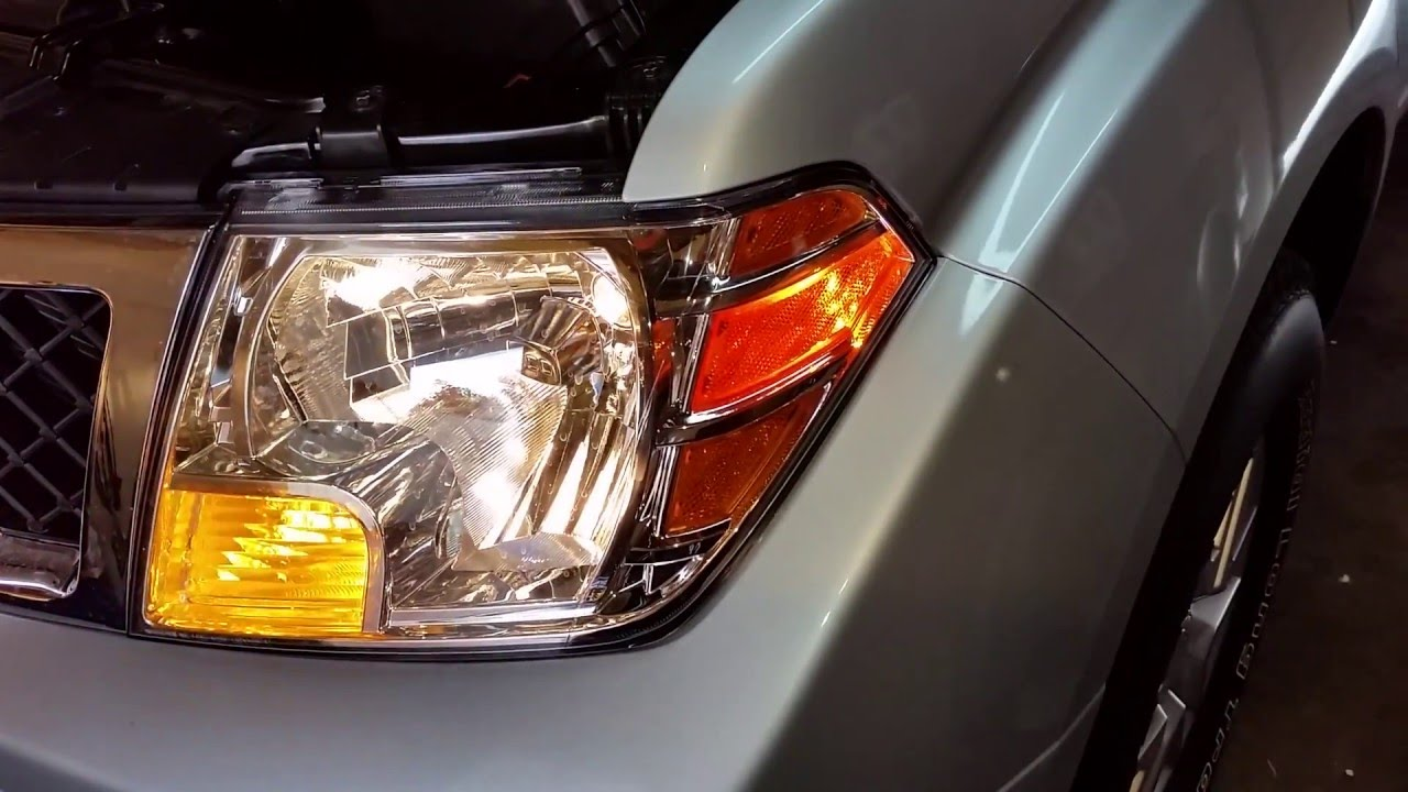 Burnt Out Headlight : Nissan frontier testing headlights after