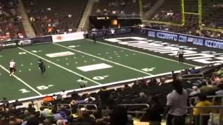 Shaun Kauleinamoku WR/KR #21 Utah Blaze 2012 Arena Football League Highlights Presented by Centre 68