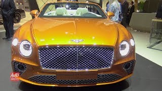 2020 Bentley Continental GT Convertible - Exterior And Interior Walkaround - 2019 Geneva Motor Show