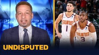 Suns will force Game 7, CP3 & Book are due — Broussard   NBA   UNDISPUTED