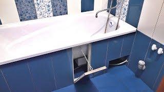 як зробити ванну плиткою