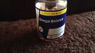 supplement review of Omega Balance from myprotein by andrew walsh personal training
