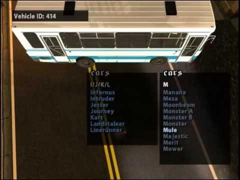 Обзор GTA San Andreas SUPER CARS №1