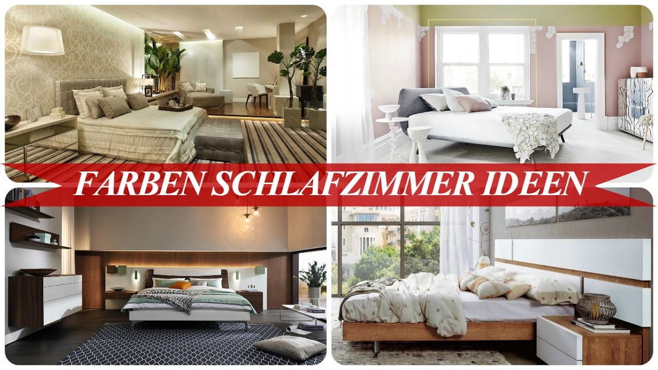 farben schlafzimmer ideen youtube. Black Bedroom Furniture Sets. Home Design Ideas