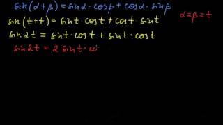 §146 Вывод формул двойного угла