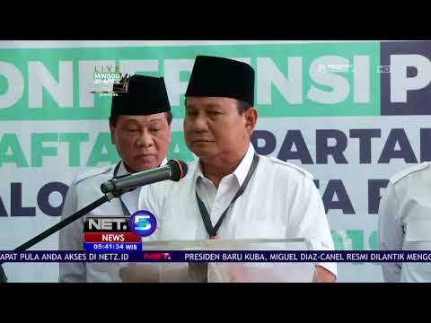 Mengejutkan!! Jokowi Ternyata Tawari Prabowo Jadi Wakil Presiden -  NET 5