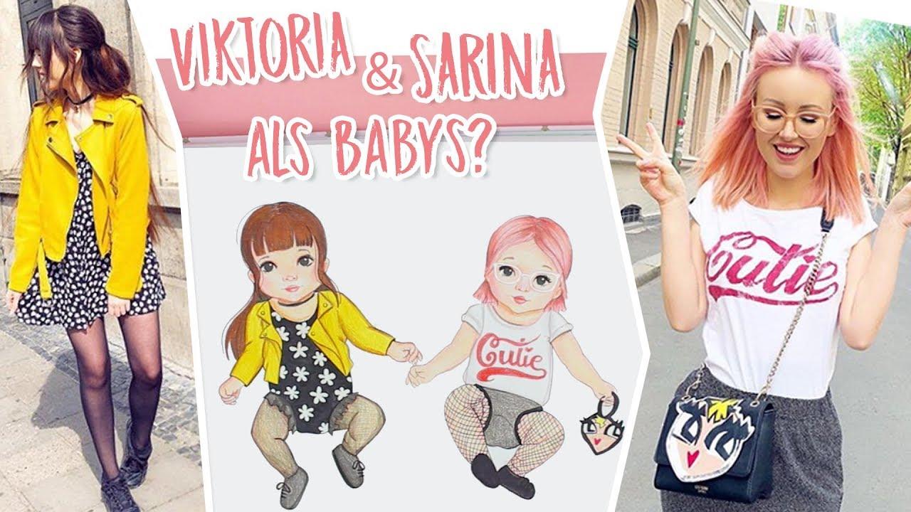 viktoria  sarina als babys  topmodel fashion kids