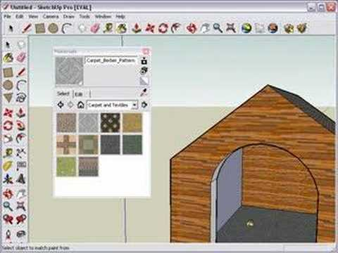 Sketchup and google 3d warehouse tutorial youtube for Mobilia sketchup 8