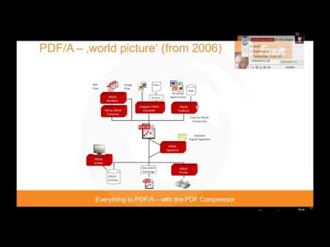 Webinar  Everything to PDF A – with the PDF Compressor