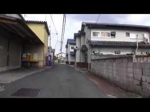 五條2丁目の街並み 奈良県五條市