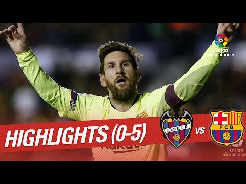 Highlights Levante UD vs FC Barcelona (0-5) Mp3