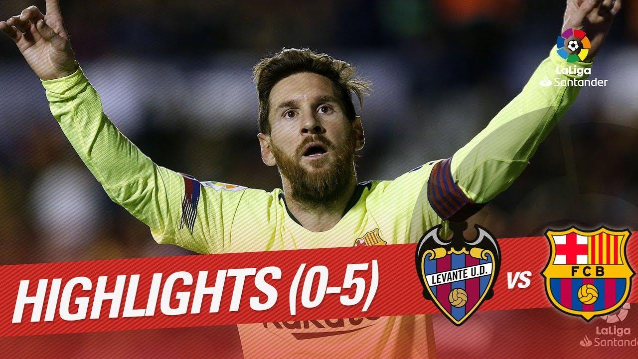 Барселона 5 0 3 0 леванте онлайн