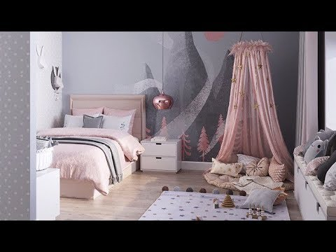 Princess Room / Dreamy Little Girls' Bedrooms / Kids Room Decor Ideas For Girls 2019