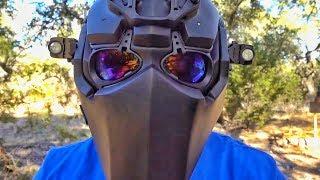 Пуленепробиваемый шлем Devtac Ronin против, сюрприз, пуль | Разрушительное ранчо | Перевод Zёбры
