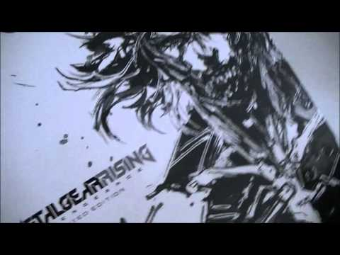 Metal Gear Rising Revengeance Unboxing Collector Europe Xbox 360