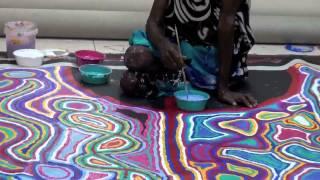 Aboriginal Artists JUDY WATSON NAPANGARDI Hair String 1437