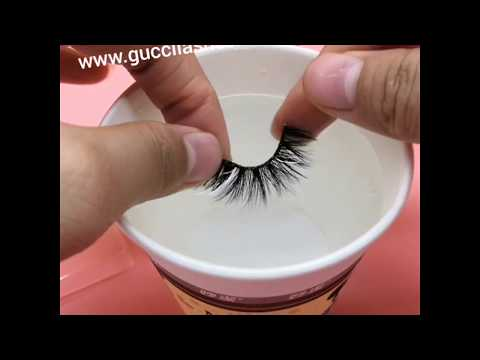 How to use the lashe glue and clean the lashes glue?