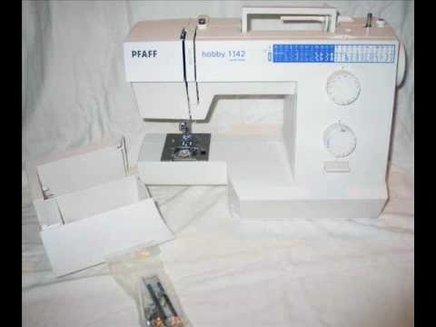 Pfaffwmv YouTube Best Pfaff Hobby 1122 Sewing Machine