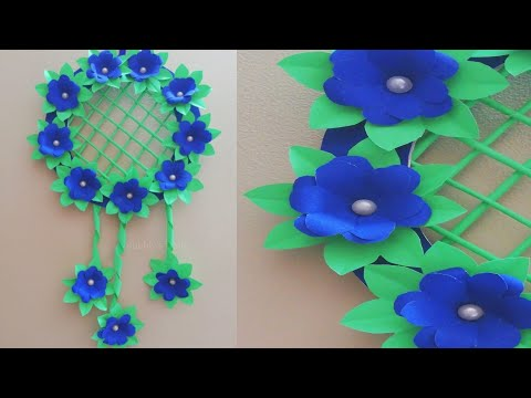 Paper Flower Wall Hanging - Wall Decoration Ideas - DIY Room Decor 2019