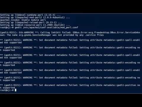 How To Install mod_perl to make Perl scripts be fast ( Perl +  mod_perl )