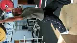 Jean-Jacques Barrett split jerk 100kg
