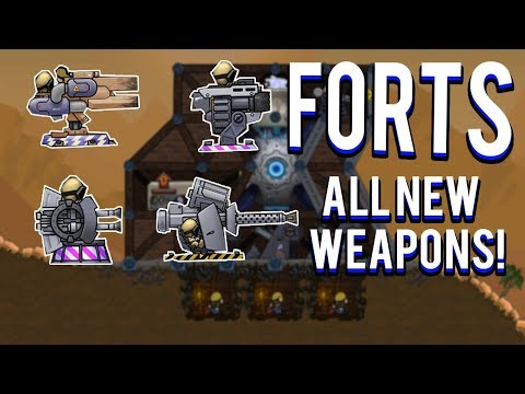 ALL NEW WEAPONS! - FORTS TONS OF GUNS UPDATE
