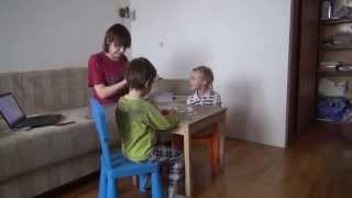 1 Начало урока - разминка. Методика КЭСПА для 4-7 лет