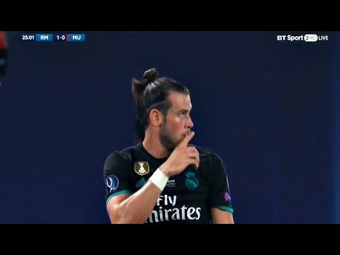 Gareth Bale vs Manchester United HD 720p (08/08/2017) by V10 Comps