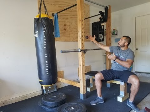 How to Build Home / Garage Gym on Budget in 1 DAY!!!  (For less than $150)