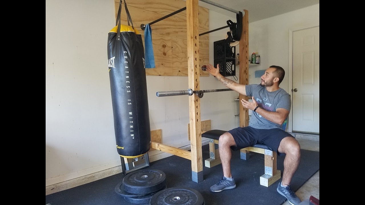 How to build home garage gym on budget in day for less
