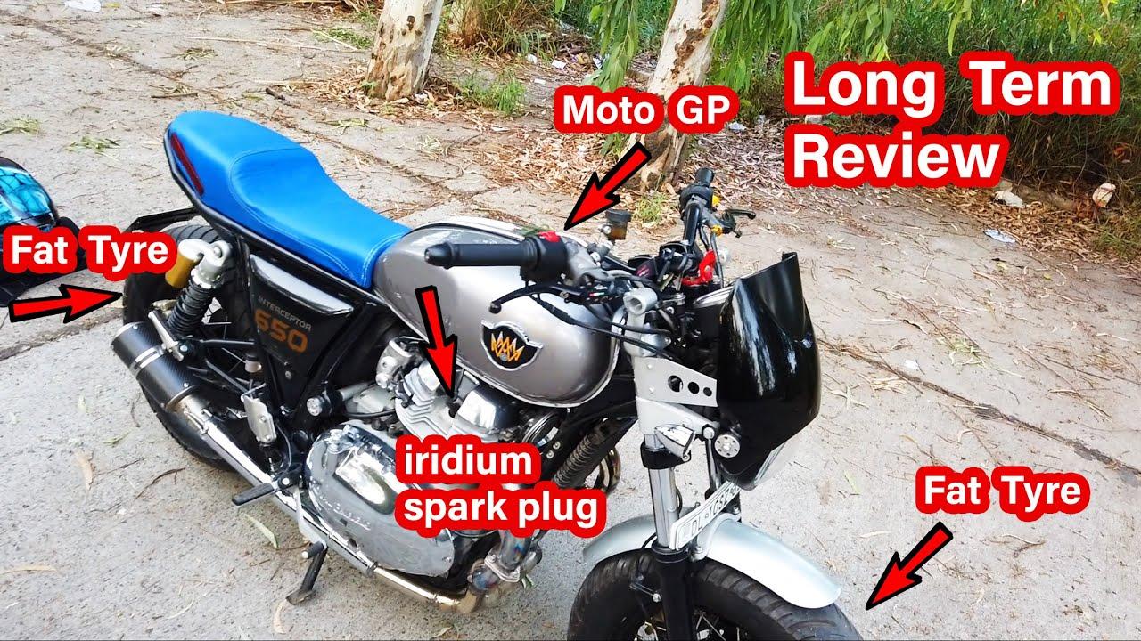 MotoGP levers | iridium spark plugs | fat big tyres Review