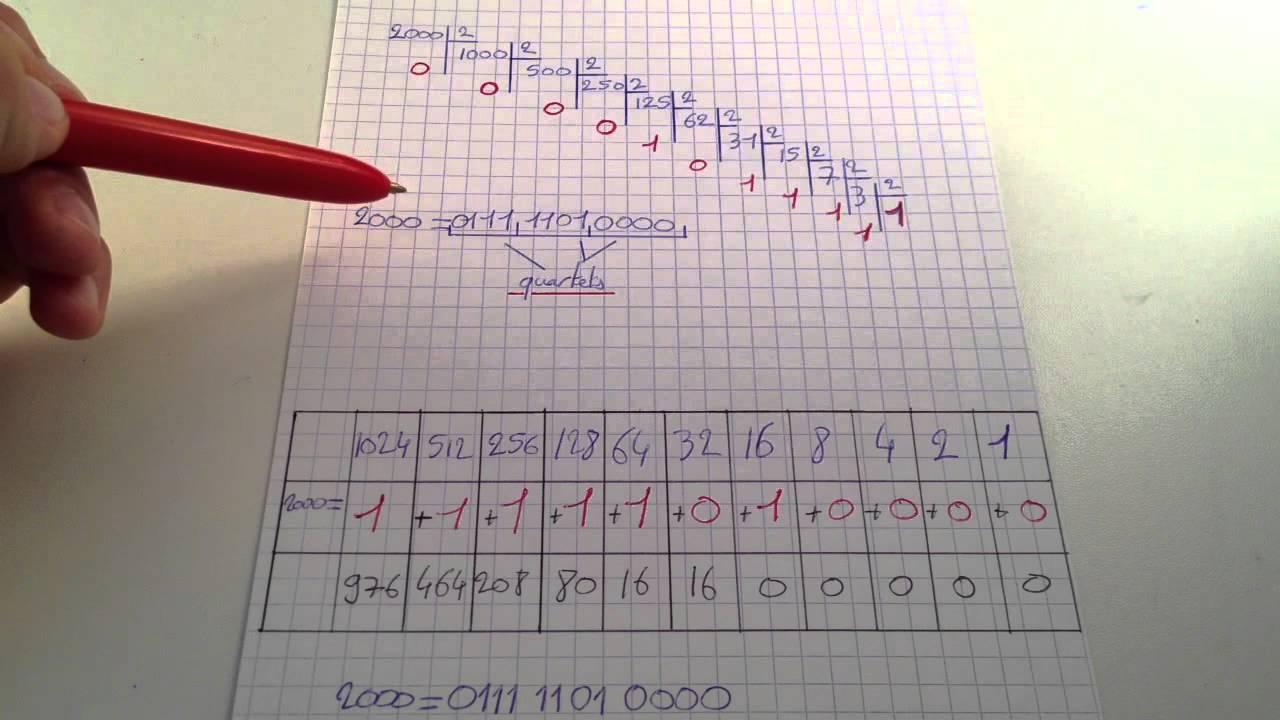 traduction language binaire