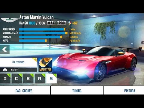 Asphalt 8 Aston Martin Vulcan Upgrades Max Pro Youtube