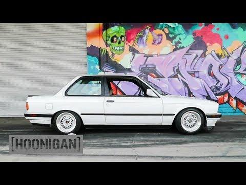 [HOONIGAN] DT 041: BMW E30 Coilover Install (Birthday Surprise!)