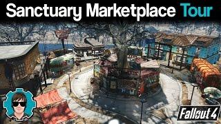 Fallout 4 Sanctuary Marketplace Tour