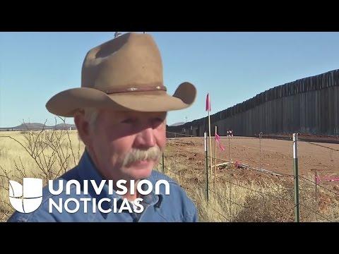 """Ranchero En La Frontera: """"El Muro Es Una Pérdida De Tiempo, No Funcionará"""""""