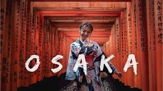 OSAKA 5D4N TRAVEL VLOG - TZIAAA TRAVEL 12