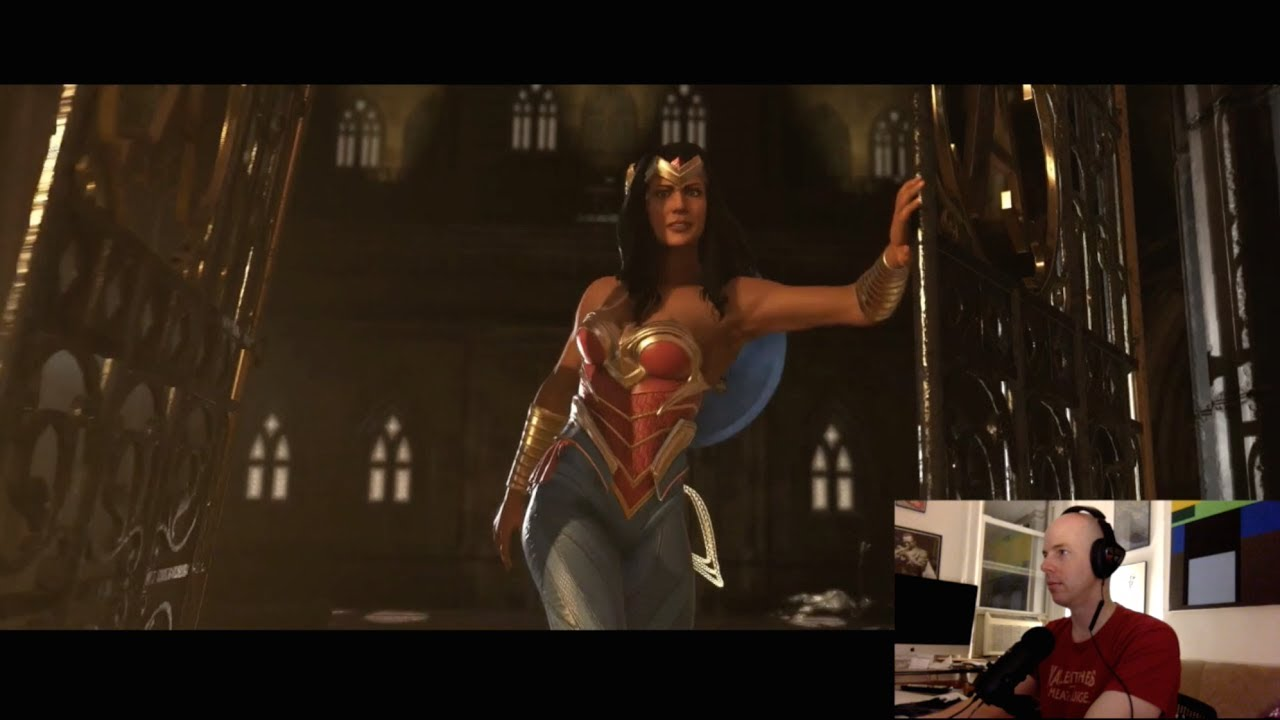 Injustice 2 - Cyborg Goes Down, Wonder Woman Kicks My Butt -2841