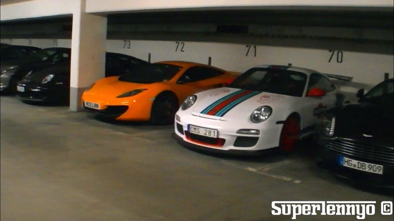 Insane Supercar Garage At The Nurburgring Youtube