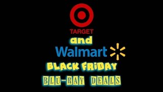 Target and Walmart Black Friday Blu-ray Deals