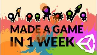 I MADE A GAME IN 1 WEEK WITH UNITY : THE GAME CREATION RECIPE - BTP GAME JAM